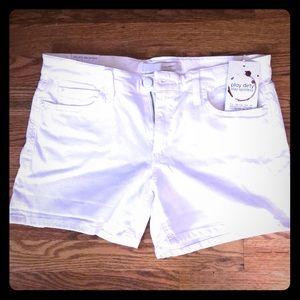 Joe's Jeans white jean shorts size 30
